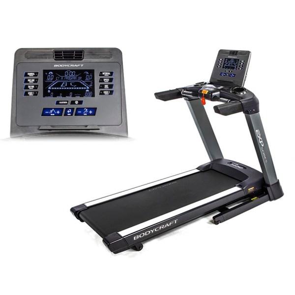 BodyCraft T400 9in LCD TREADMILL