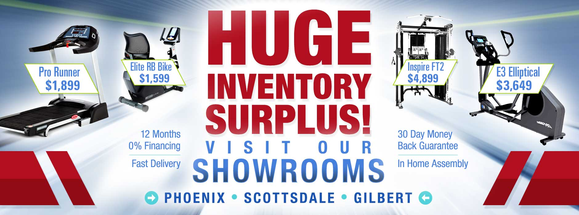 At Home Fitness Huge Inventory Surplus May 2021 Visit our Showrooms