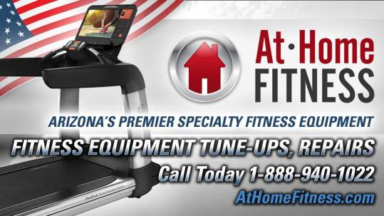 At Home Fitness can help people with tune-ups and repairs for personal and commercial fitness equipment in Arizona