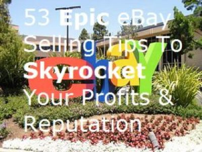 sign eBay online selling tips eCommerce