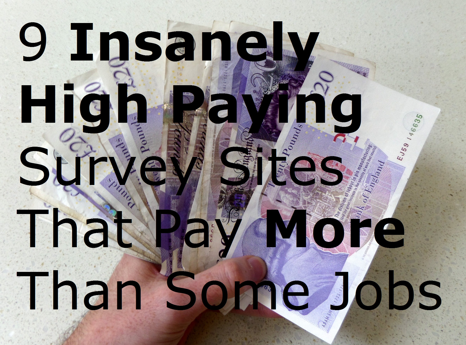 9 Insanely High Paying Survey Sites That Pay More Than Some Jobs