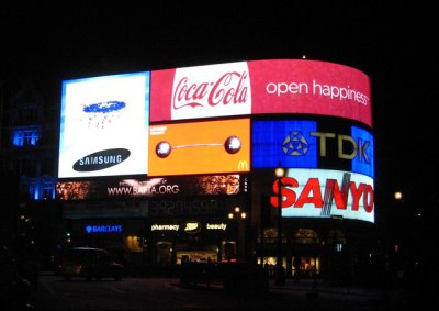Piccadilly Circus marketing advertising paid surveys