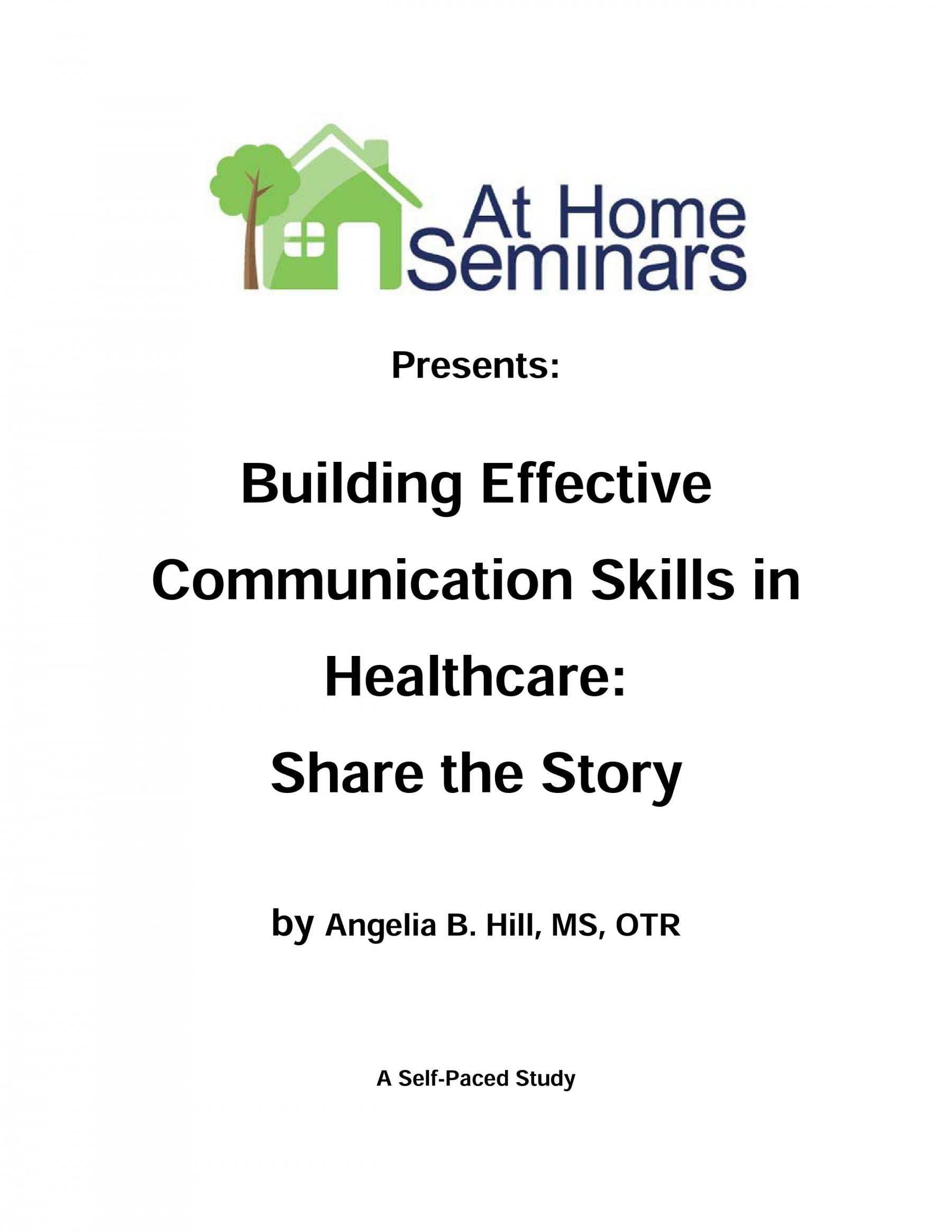 Building Effective Communication Skills In Healthcare