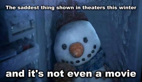 Snowman Movie Tears
