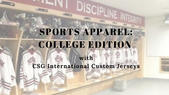 CSG International College Jerseys