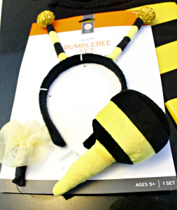 bee stinger and antenna for costume