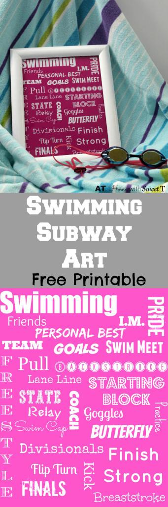 Swimming Subwat Art