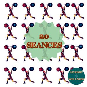 20 sessions de préparation physique - programmation de l'entraînement Athomic Wellness