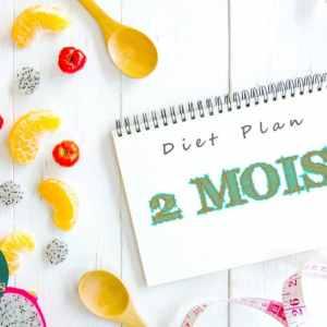 Suivi nutritionnel sur 2 mois -Diet plan 2 mois Athomic Wellness