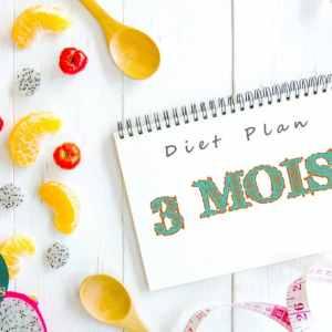 Abonnement nutition sur 3 mois - Diet Plan 3 mois