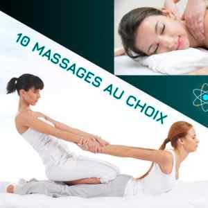 10 Massages sur mesure : Thaï Yoga Massage, massage relaxant ou massage sportif