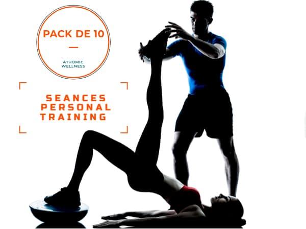 Pack de 10 séances de personal training
