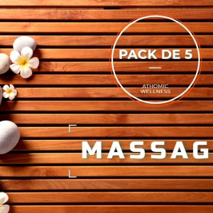 Pack de 5 massages