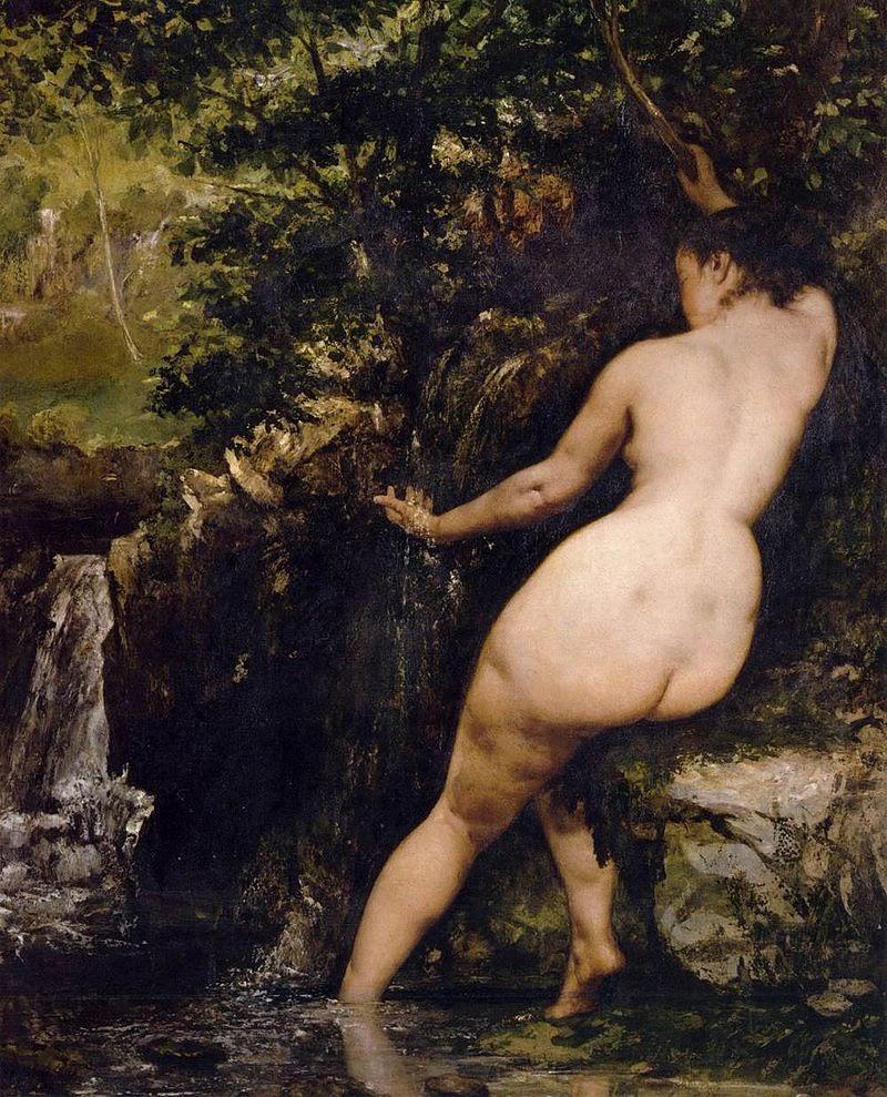 La Source de Gustave Courbet - 1868