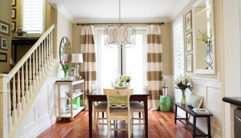 let there be stripes {the drapes are done!} - a thoughtful place