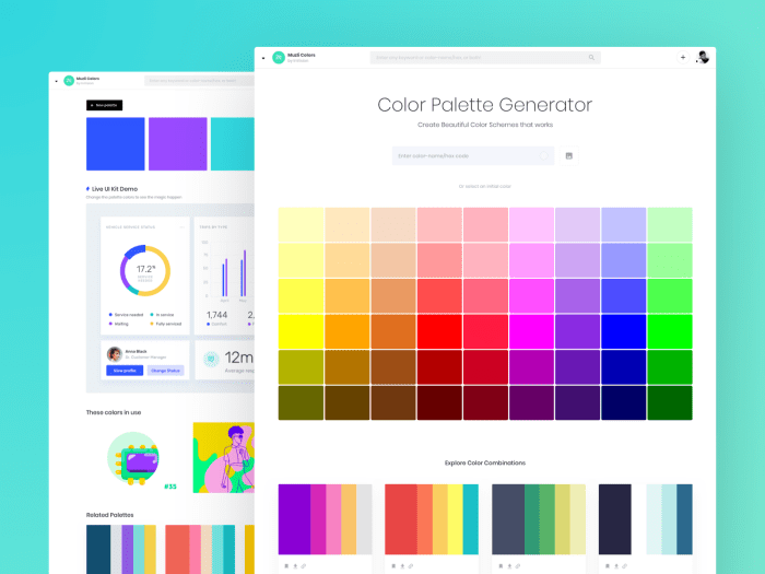 Color Palette Generator - Create Beautiful Color Schemes