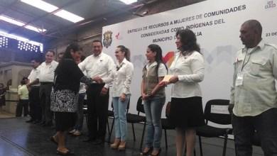 Se benefició a 200 mujeres de comunidades consideradas indígenas en la capital del estado