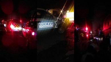 Hasta el momento se desconoce la causa del siniestro, sin embargo, no se reportan lesionados (FOTOS: MARIO REBO)