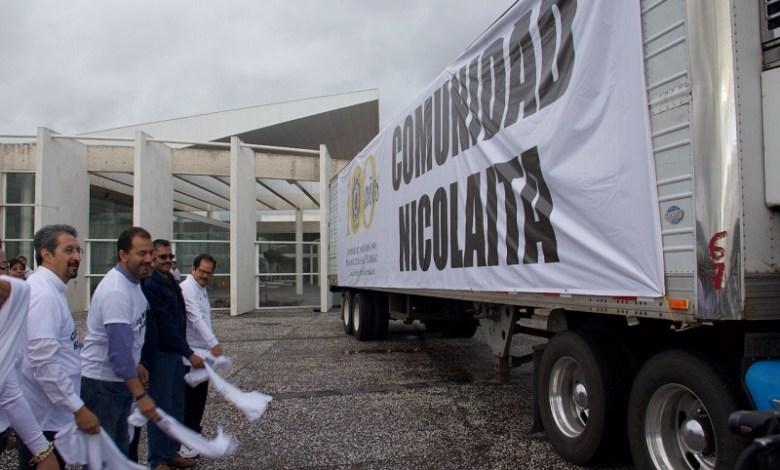 La UMSNH pondrá directamente en manos de los damnificados víveres, ropa y medicamentos
