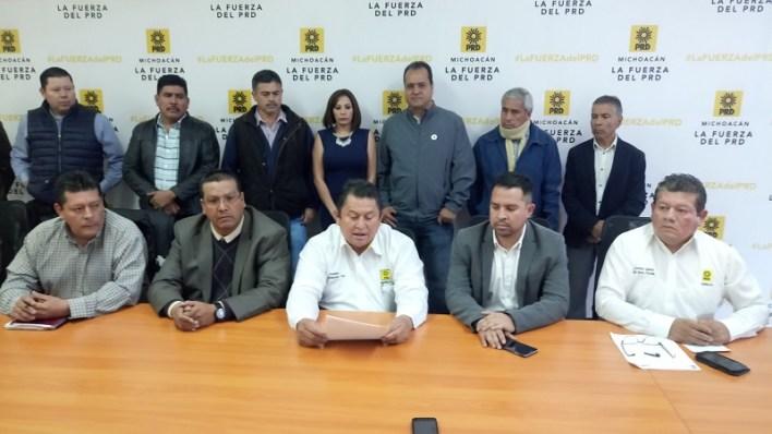 Javier Maldonado Torres, presidente del Sol Azteca en la capital michoacana indicó que la militancia perredista está lista para los retos electorales del siguiente año