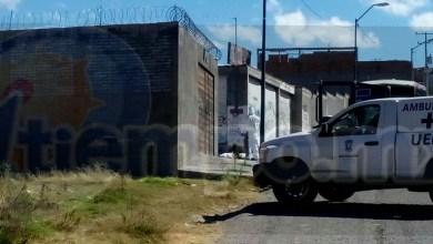 Elementos de la Policía Michoacán realizaron un fuerte operativo en la zona para tratar de dar con el o los agresores pero sin resultados positivos
