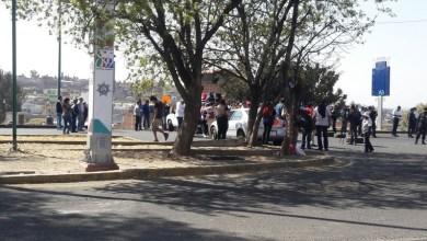 La manifestación provocó un severo caos vial en el sentido de la Salida a Salamanca hacia la Salida a Charo