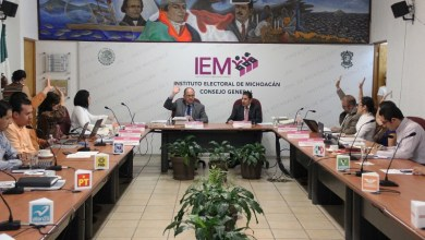 Asimismo, el Consejo General del IEM acordó el procedimiento de consulta a la comunidad indígena de Arantepacua, del municipio de Nahuatzen