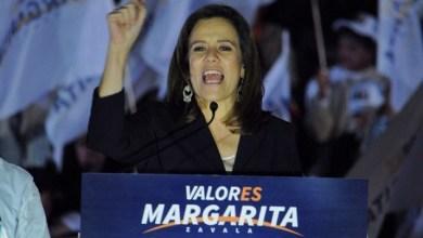 Para Zavala, los otros candidatos representan la política de la trampa y del dinero, de la corrupción, por lo que hizo un llamado para hacer una campaña limpia, llena de ideas, de propuestas, de fe y valor