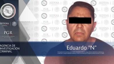 Fue detenido por personal de la SEDENA y la AIC en Uruapan, Michoacán, y posteriormente vinculado a proceso por su probable responsabilidad en la comisión de delitos contra la salud, así como violación a la Ley Federal de Armas de Fuego y Explosivos