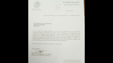 Villalvazo Ruiz argumentó que el nombramiento de su consanguíneo en el plantel Guacamayas, fue solicitado por el propio director del plantel, Salvador Morfín Gutiérrez, solicitud que fue atendida en febrero de este 2018