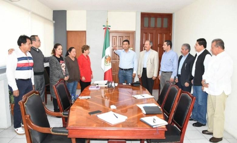 """Olivio López, se dijo sentir honrado por la designación y se comprometió a trabajar en la renovación, """"tenemos un partido que desde de nuestro origen tenemos que hacerlo atractivo y futurista"""""""