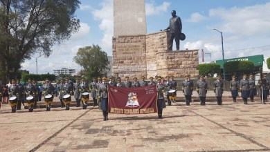 Ante 79 Bandas de Guerra y Escoltas, representante del Tec de Morelia gana primer lugar por segundo año consecutivo