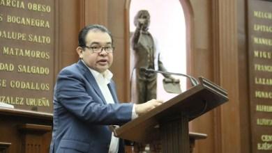 Martínez Soto es presidente de la Comisión de Programación, Presupuesto y Cuenta Pública del Congreso del Estado