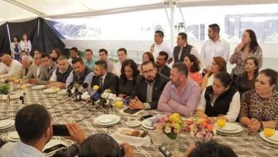 Diputados locales, alcaldes, regidores y funcionarios municipales de ADN anunciaron la realización de foros en el estado para determinar la ruta a seguir