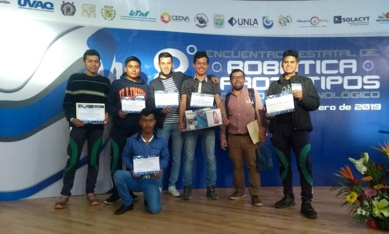 Alumnos de los Planteles de Ciudad Hidalgo y Tangancícuaro, obtienen 6 medallas de primeros lugares