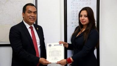 La doctorante Isabel Maldonado Sánchez, asumió este día el cargo como Fiscal Regional