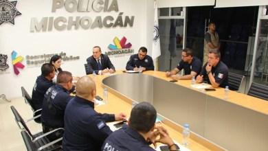 Se fortalece la estrategia de seguridad para brindar atención oportuna a los michoacanos: Godoy Castro