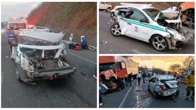 accidente, carretera Morelia-Pátzcuaro