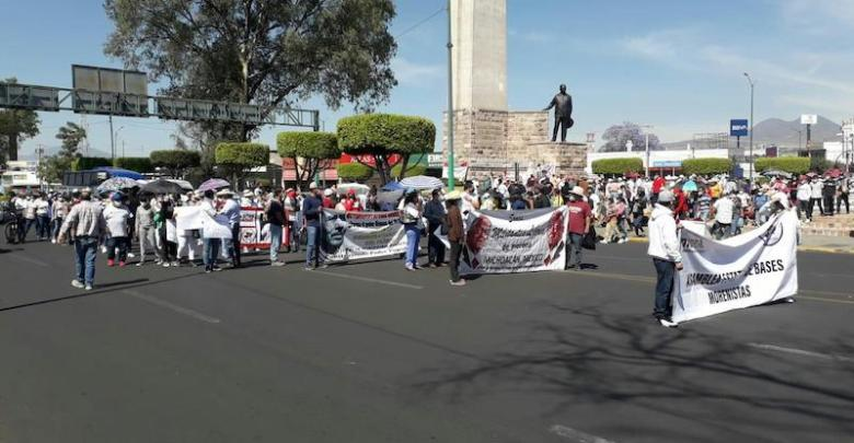 marcha, Morena, Morelia