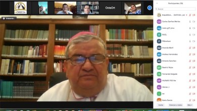 Carlos Garfias Merlos, conferencia virtual, arzobispo de Morelia