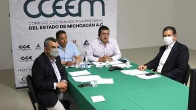 CCEEIM, Consejo Coordinador Empresarial, Michoacán