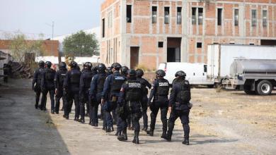 Policía Michoacán, cuartel en construcción