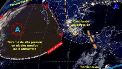 pronóstico del tiempo, México