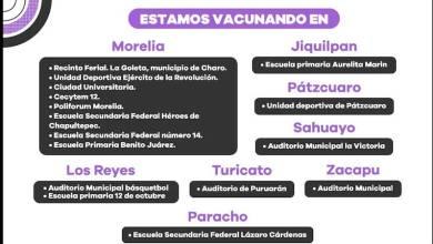 vacunación, COVID-19, Michoacán