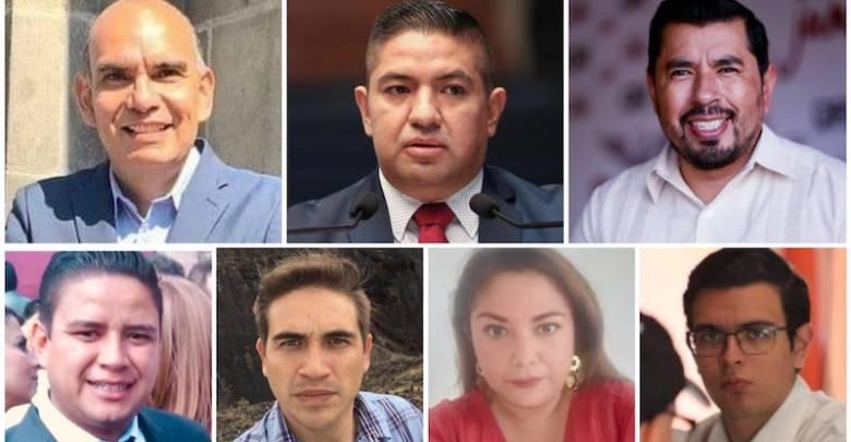 Los suspirantes, Morena, Uruapan