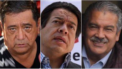 Félix Salgado Macedonio, Mario Delgado, Raúl Morón