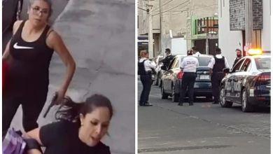 mujeres armadas, Morelia, Policía de Morelia