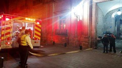 incendio, Palacio de Gobierno, Morelia