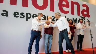 Raúl Morón Orozco, Alfredo Ramírez Bedolla, Morena