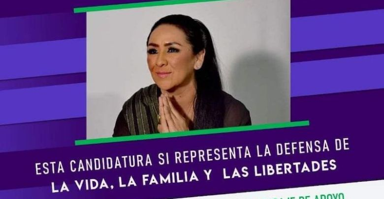 Tzitziqui Peña Belmonte, provida